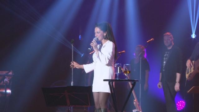 Koncert Lucie Bílej na Myjave