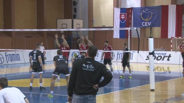 Volejbal Spartak Myjava -  VK Slávia Svidník