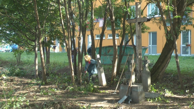 Revitalizácia parku pri Tescu