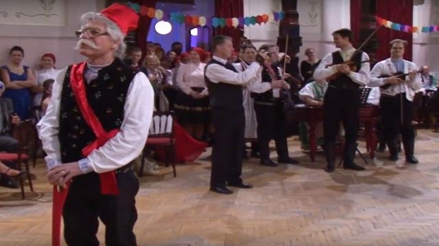 Turecký tanec - jeden z mála odkazov na fašiangové tradície v Skalici