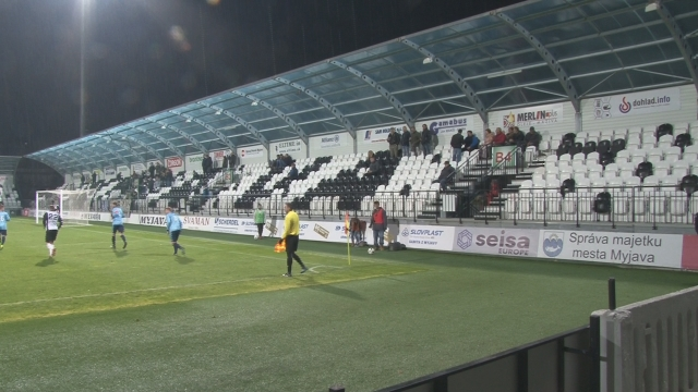 Futbal muži Spartak Myjava - TJ Iskra Holíč