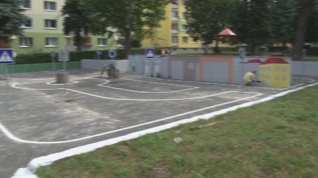 Opravené detské ihriská