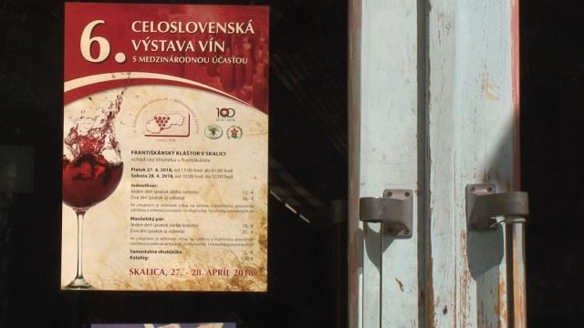 Pozvánky na výstavu vín do Skalice
