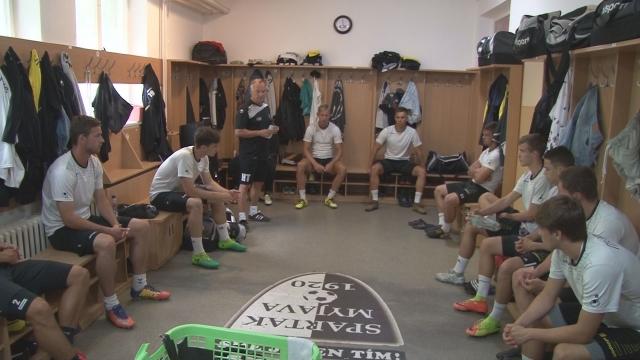 Futbalisti A začali prípravu pod vedením nového trénera
