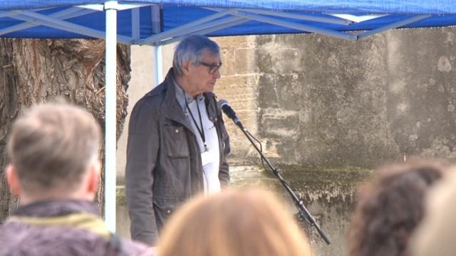 Protestné zhromaždenie podporil aj režisér a scenárista Peter Hledík