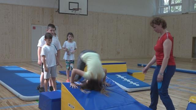Gymnastika moderne by deti lákala