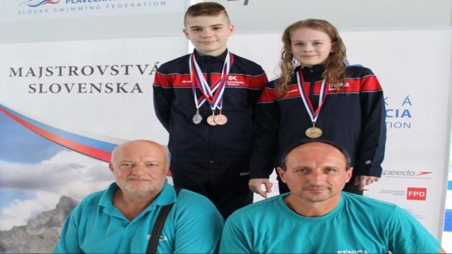 Úspechy plaveckého klubu Záhorák