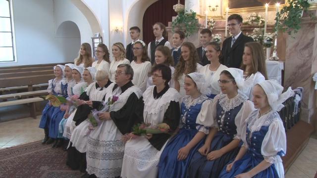 Konfirmácia v evanjelickom kostole