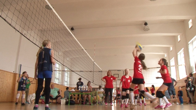 Volejbalový turnaj mladších žiačok