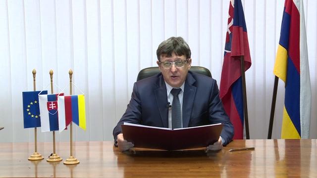 Novoročný príhovor primátora Senice Branislava Grimma