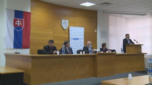 Stretnutie predstavenstva KDH v Senici
