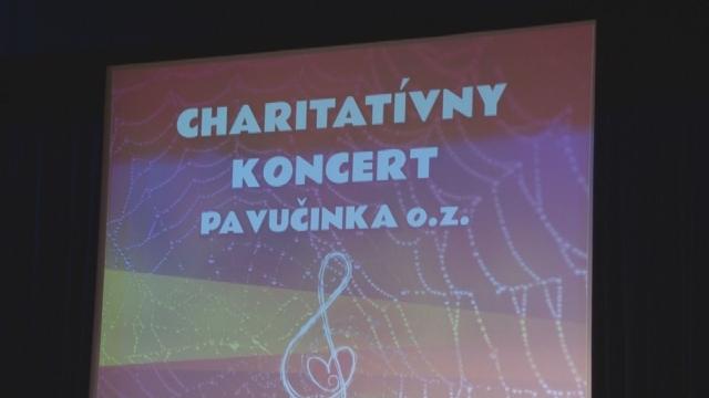 Charitatívny koncert oz Pavučinka