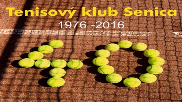 Tenisový klub oslávil 40. výročie