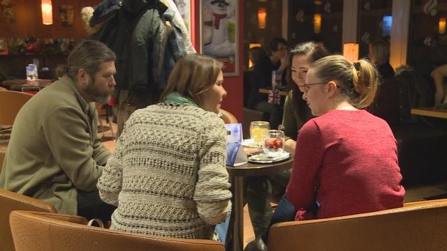 Jazyková kaviareň v Senici