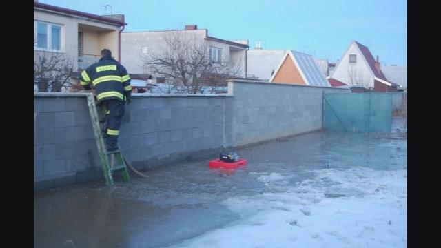 Záplavy na Okružnej ulici