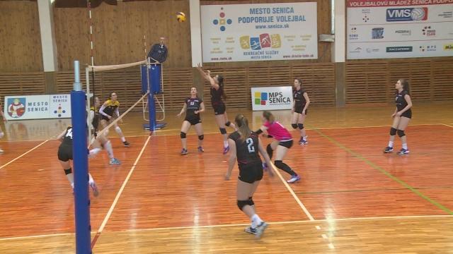 Volejbalová mládež Senica ukončila sezónu