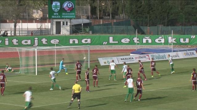 Štvrtá výhra futbalistov MFK