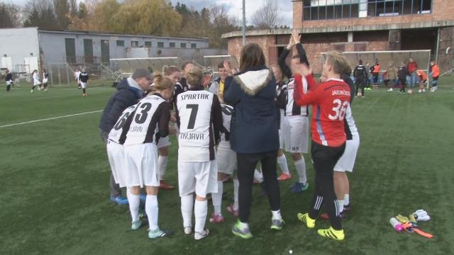 Futbal ženy Spartak Myjava- MFK Ružomberok