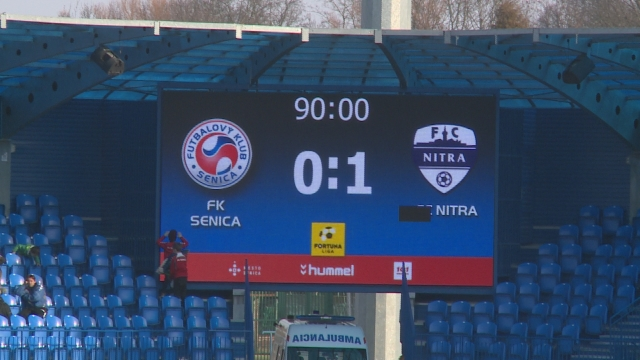 Futbal Senica - Nitra 2018