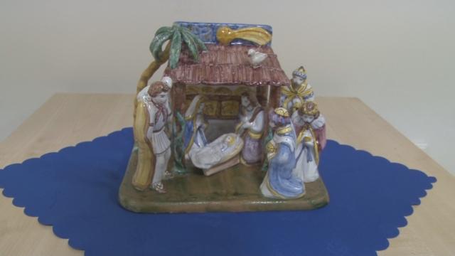 Výstava keramických  betlehemov