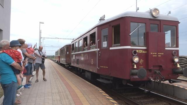 Historický vlak zastavil aj v Senici