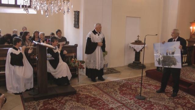 Hodové bohoslužby  v Čáčove.