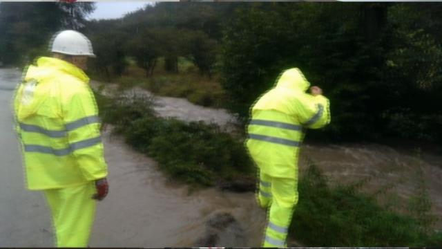 Povodne v Brezovej