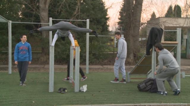Nové workoutové ihrisko