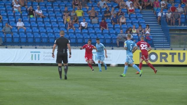Futbal: Senica – Slovan