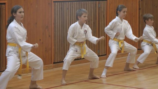 Karate - páskovanie