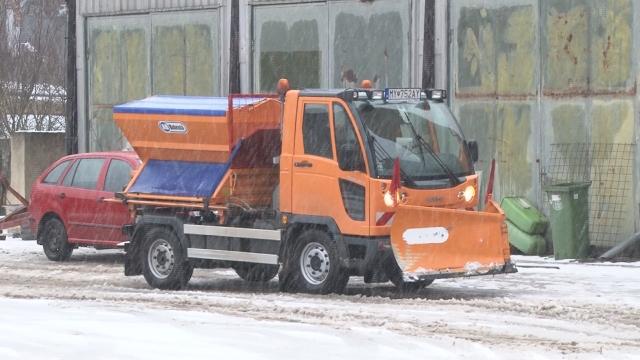 Zimná údržba mesta