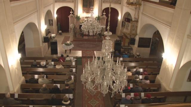 Adventný koncert v evanjelickom kostole