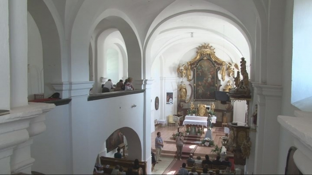 Prezentovanie výsledkov výskumu kostola v Brezovej