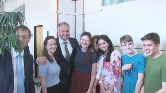 Návšteva prezidenta  Andreja Kisku