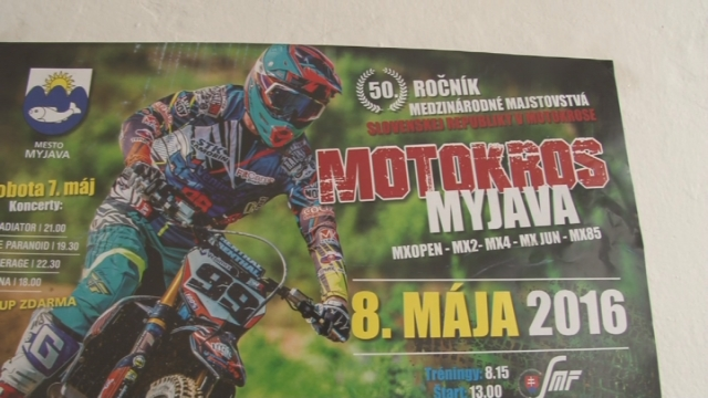 Medzinárodné majstrovstvá SR v motocrosse pozvánka