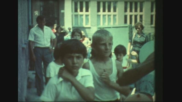 Koniec školského roka 1979 v Čáčove