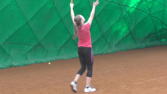 Tenisový turnaj starších žiačok