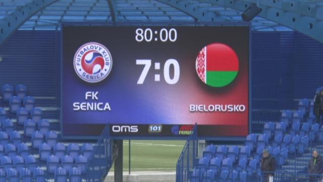 Futbal - Bielorusko