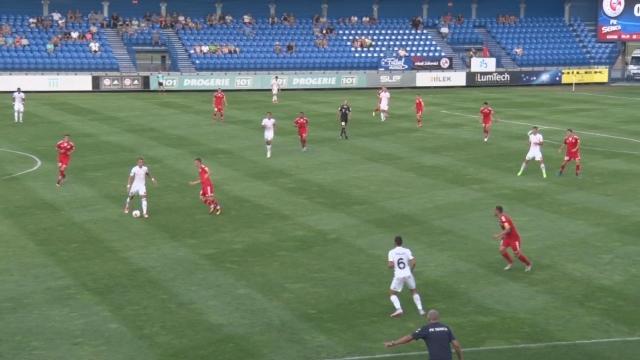 Prvý zápas Fortuna ligy medzi Senicou a Trenčínu