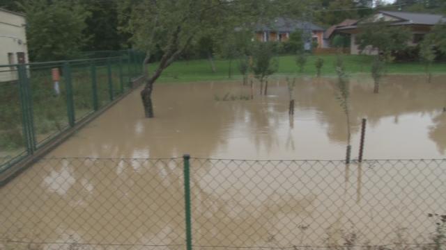 Povodňová aktivita na rieke Myjava