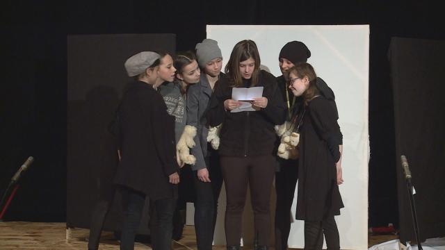 Detskí divadelníci ukázali svoju tvorivosť