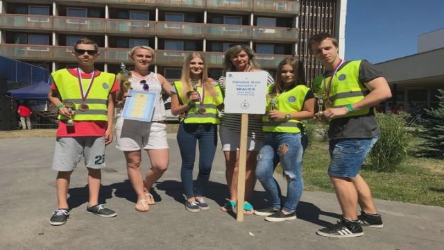 Skalickí záchranári tretí na Slovensku