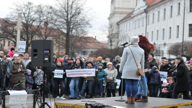 Za slušné Slovensko v Skalici