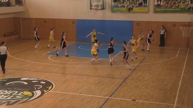 Basketbal: MBK Stará Turá - BKŽ Levice